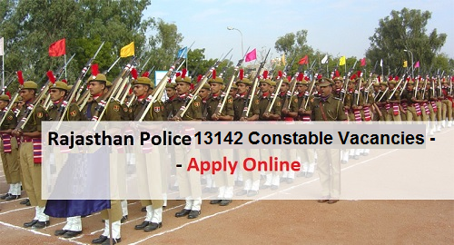 Rajasthan Police Recruitment 2019