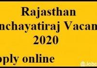 Panchayatiraj vacancy