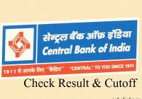 Central Bank of India Result 2020