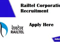Railtel Corporation Recruitment 2021