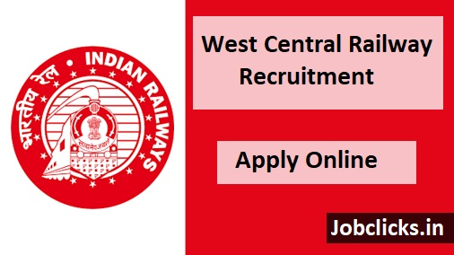 West Central Railway Recruitment 2021-22, WCR Station Master Vacancies