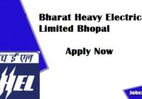 BHEL Bhopal Recruitment 2020-21