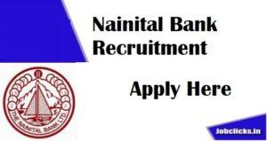 Nainital Bank Recruitment 2020-2021