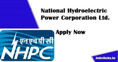 NHPC recruitment 2020-21