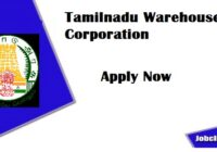 TNWC Recruitment 2020-21