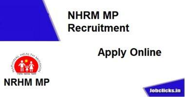 NRHM MP Recruitment 2020-21