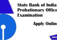 SBI PO Recruitment 2020-21
