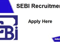 SEBI Recruitment 2020-21