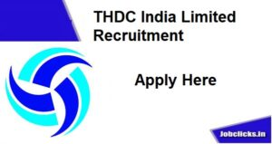 THDC India limited Recruitment 2020-21