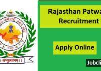 Rajasthan Patwari Recruitment 2021
