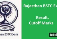 Rajasthan BSTC Counselling 2021 | BSTC Result 2021 | BSTC Cutoff 2021
